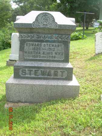 STEWART, EDWARD - Carroll County, Ohio | EDWARD STEWART - Ohio Gravestone Photos