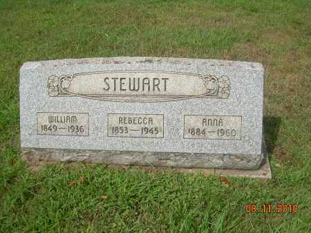 STEWART, REBECCA - Carroll County, Ohio | REBECCA STEWART - Ohio Gravestone Photos
