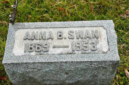 SWAN, ANNA BELLE - Carroll County, Ohio | ANNA BELLE SWAN - Ohio Gravestone Photos