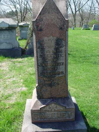 SWEENEY, MARY J. - Carroll County, Ohio   MARY J. SWEENEY - Ohio Gravestone Photos