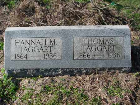 TAGGART, THOMAS - Carroll County, Ohio | THOMAS TAGGART - Ohio Gravestone Photos