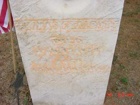TALBOTT, THOMAS F. - CLOSE VIEW - Carroll County, Ohio | THOMAS F. - CLOSE VIEW TALBOTT - Ohio Gravestone Photos