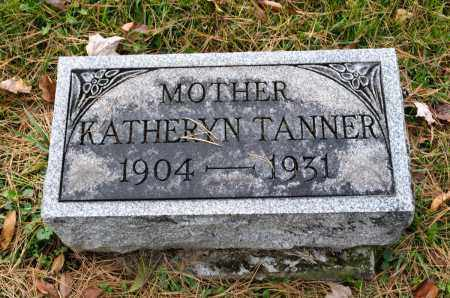 TANNER, KATHERYN CAROLINE - Carroll County, Ohio | KATHERYN CAROLINE TANNER - Ohio Gravestone Photos