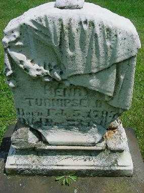 TURNIPSEED, HENRY - Carroll County, Ohio | HENRY TURNIPSEED - Ohio Gravestone Photos