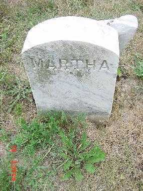 UNKNOWN, MARTHA - Carroll County, Ohio   MARTHA UNKNOWN - Ohio Gravestone Photos