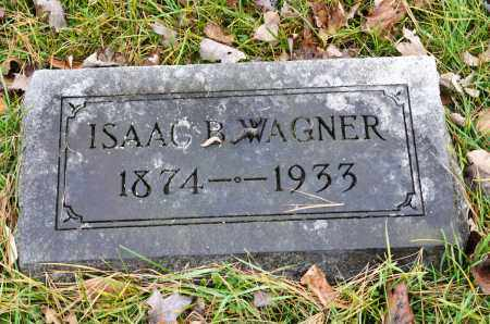 WAGNER, ISAAC B. - Carroll County, Ohio | ISAAC B. WAGNER - Ohio Gravestone Photos