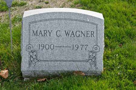 WAGNER, MARY C. - Carroll County, Ohio | MARY C. WAGNER - Ohio Gravestone Photos