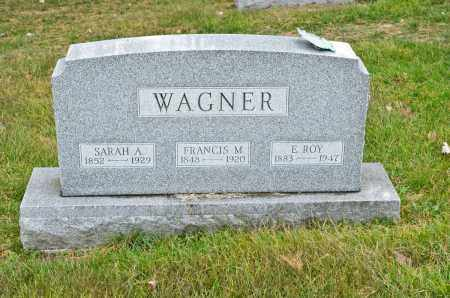 WAGNER, FRANCIS M. - Carroll County, Ohio | FRANCIS M. WAGNER - Ohio Gravestone Photos