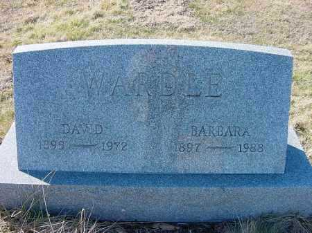 WARDLE, BARBARA - Carroll County, Ohio | BARBARA WARDLE - Ohio Gravestone Photos
