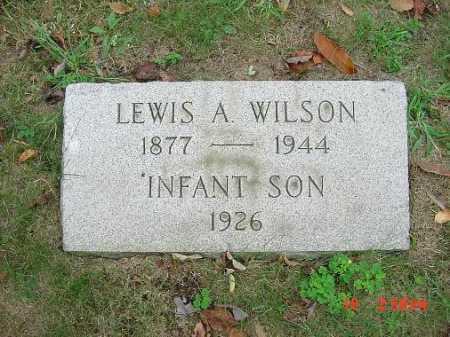 WILSON, LEWIS A. - Carroll County, Ohio | LEWIS A. WILSON - Ohio Gravestone Photos