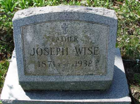 WISE, JOSEPH - Carroll County, Ohio | JOSEPH WISE - Ohio Gravestone Photos