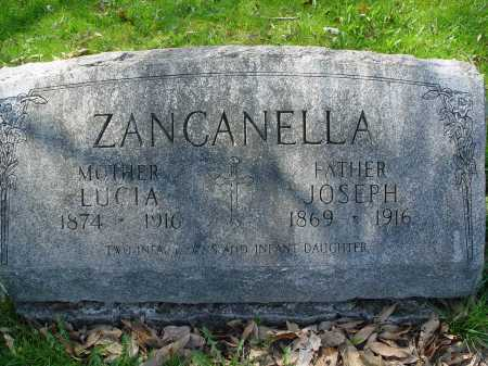 ZANCANELLA, LUCIA - Carroll County, Ohio | LUCIA ZANCANELLA - Ohio Gravestone Photos