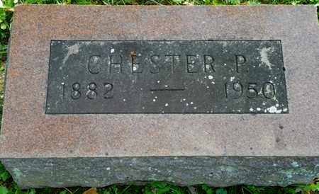 ABBOTT, CHESTER P. - Champaign County, Ohio | CHESTER P. ABBOTT - Ohio Gravestone Photos