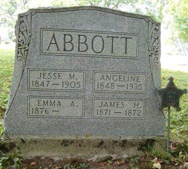 ABBOTT, JESSE M - Champaign County, Ohio   JESSE M ABBOTT - Ohio Gravestone Photos