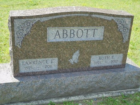 ABBOTT, RUTH ELINORE - Champaign County, Ohio | RUTH ELINORE ABBOTT - Ohio Gravestone Photos