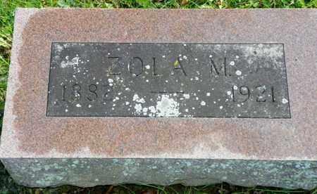 ABBOTT, ZOLA M. - Champaign County, Ohio | ZOLA M. ABBOTT - Ohio Gravestone Photos
