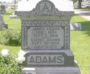ADAMS, JAMES - Champaign County, Ohio | JAMES ADAMS - Ohio Gravestone Photos