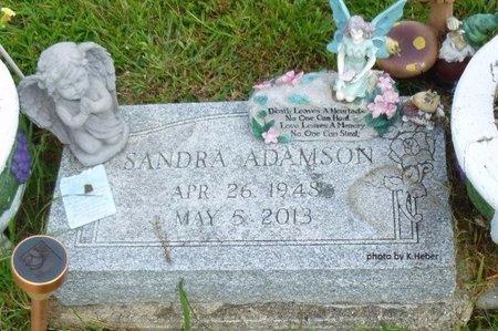 ADAMSON, SANDRA A - Champaign County, Ohio   SANDRA A ADAMSON - Ohio Gravestone Photos