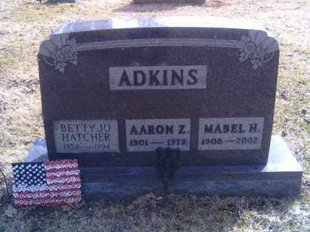 ADKINS, AARON Z. - Champaign County, Ohio | AARON Z. ADKINS - Ohio Gravestone Photos