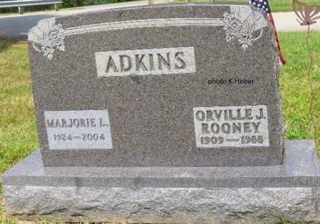 ADKINS, MARJORIE LEONA - Champaign County, Ohio   MARJORIE LEONA ADKINS - Ohio Gravestone Photos