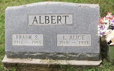 ALBERT, LOLA ALICE - Champaign County, Ohio | LOLA ALICE ALBERT - Ohio Gravestone Photos