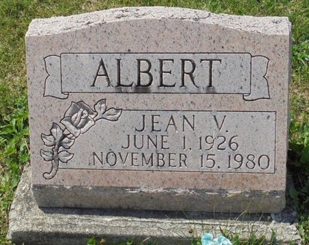 ALBERT, JEAN V - Champaign County, Ohio | JEAN V ALBERT - Ohio Gravestone Photos