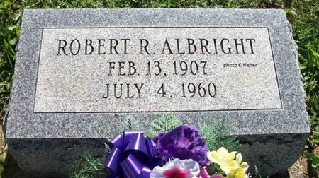 ALBRIGHT, ROBERT RALPH - Champaign County, Ohio | ROBERT RALPH ALBRIGHT - Ohio Gravestone Photos
