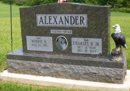ALEXANDER, JR, CHARLES R - Champaign County, Ohio | CHARLES R ALEXANDER, JR - Ohio Gravestone Photos