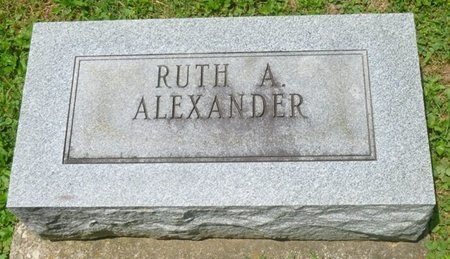 ALEXANDER, RUTH ANTOINETTE - Champaign County, Ohio | RUTH ANTOINETTE ALEXANDER - Ohio Gravestone Photos