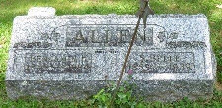 ALLEN, BENJAMIN H - Champaign County, Ohio   BENJAMIN H ALLEN - Ohio Gravestone Photos