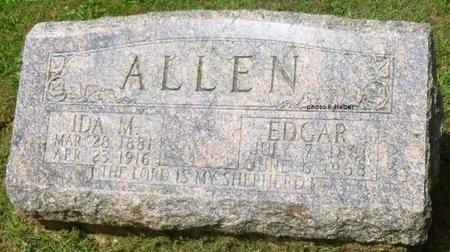 ALLEN, CHARLES EDGAR - Champaign County, Ohio | CHARLES EDGAR ALLEN - Ohio Gravestone Photos