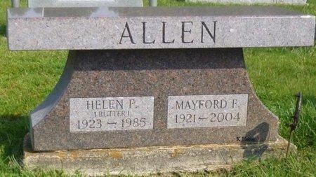 "JACOBS ALLEN, HELEN FRANCES ""BUTTER"" - Champaign County, Ohio | HELEN FRANCES ""BUTTER"" JACOBS ALLEN - Ohio Gravestone Photos"