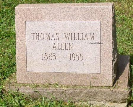 ALLEN, THOMAS WILLIAM - Champaign County, Ohio | THOMAS WILLIAM ALLEN - Ohio Gravestone Photos