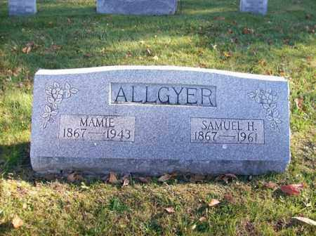ALLGYER, MAMIE - Champaign County, Ohio | MAMIE ALLGYER - Ohio Gravestone Photos
