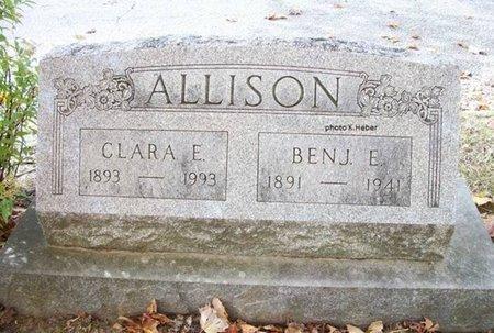 ALLISON, BENJAMIN ELI - Champaign County, Ohio   BENJAMIN ELI ALLISON - Ohio Gravestone Photos