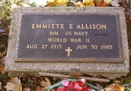 ALLISON, EMMITTE E - Champaign County, Ohio | EMMITTE E ALLISON - Ohio Gravestone Photos