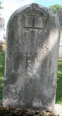 ALLISON, THOMAS - Champaign County, Ohio | THOMAS ALLISON - Ohio Gravestone Photos