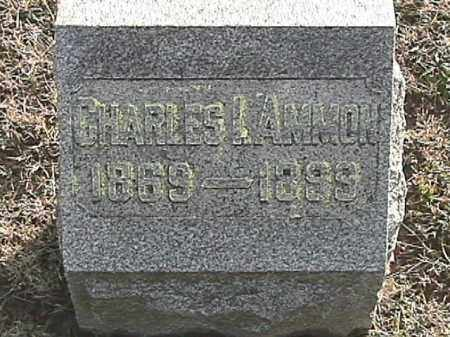 AMMON, CHARLES ISAAC - Champaign County, Ohio | CHARLES ISAAC AMMON - Ohio Gravestone Photos