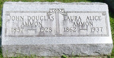 AMMON, JOHN DOUGLAS - Champaign County, Ohio | JOHN DOUGLAS AMMON - Ohio Gravestone Photos