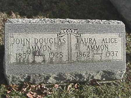 AMMON, JOHN DOUGLAS - Champaign County, Ohio | JOHN DOUGLAS AMMON - Ohio Gravestone Photos