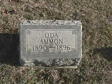 AMMON, ODA - Champaign County, Ohio   ODA AMMON - Ohio Gravestone Photos