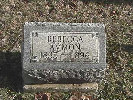AMMON, REBECCA - Champaign County, Ohio | REBECCA AMMON - Ohio Gravestone Photos