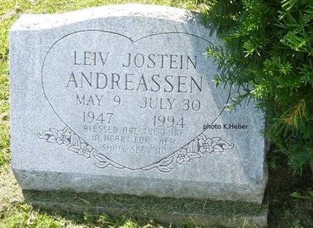 ANDREASSEN, LEIV JOSTEIN - Champaign County, Ohio | LEIV JOSTEIN ANDREASSEN - Ohio Gravestone Photos