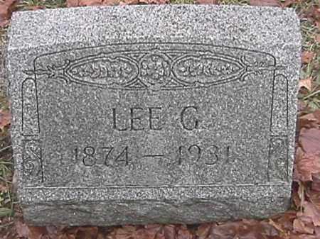 APPLE, LEE G. - Champaign County, Ohio | LEE G. APPLE - Ohio Gravestone Photos