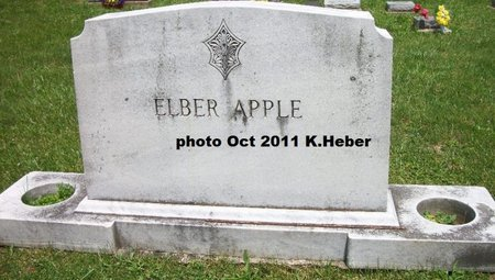 APPLE, MONUMENT - Champaign County, Ohio | MONUMENT APPLE - Ohio Gravestone Photos