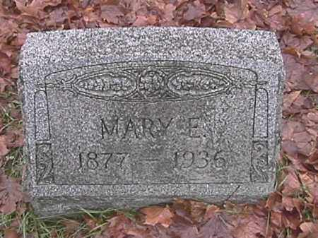 APPLE, MARY E. - Champaign County, Ohio | MARY E. APPLE - Ohio Gravestone Photos