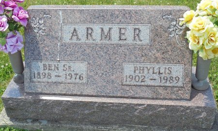 ARMER, PHYLLIS MAE - Champaign County, Ohio | PHYLLIS MAE ARMER - Ohio Gravestone Photos