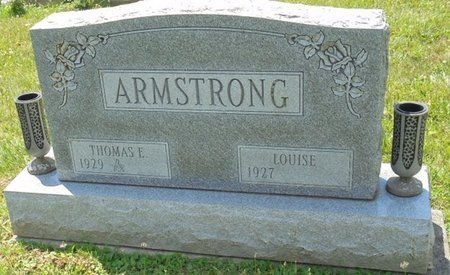 ARMSTRONG, THOMAS E - Champaign County, Ohio | THOMAS E ARMSTRONG - Ohio Gravestone Photos