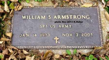 ARMSTRONG, WILLIAM S - Champaign County, Ohio | WILLIAM S ARMSTRONG - Ohio Gravestone Photos