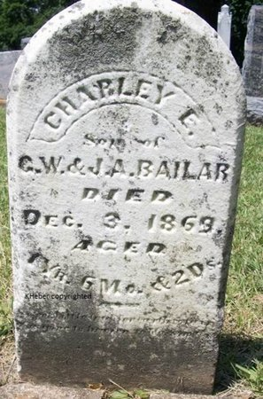 BAILAR, CHARLEY E - Champaign County, Ohio | CHARLEY E BAILAR - Ohio Gravestone Photos